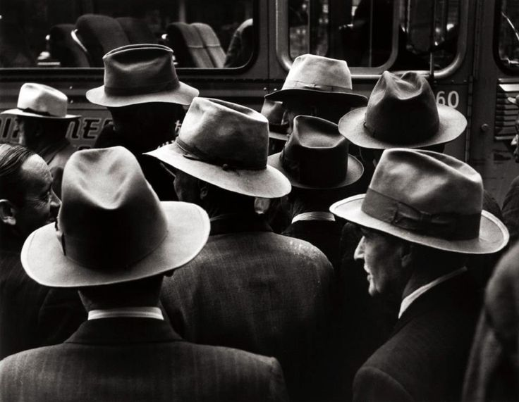 """""""Hats"""" by William Heick, 1951"""