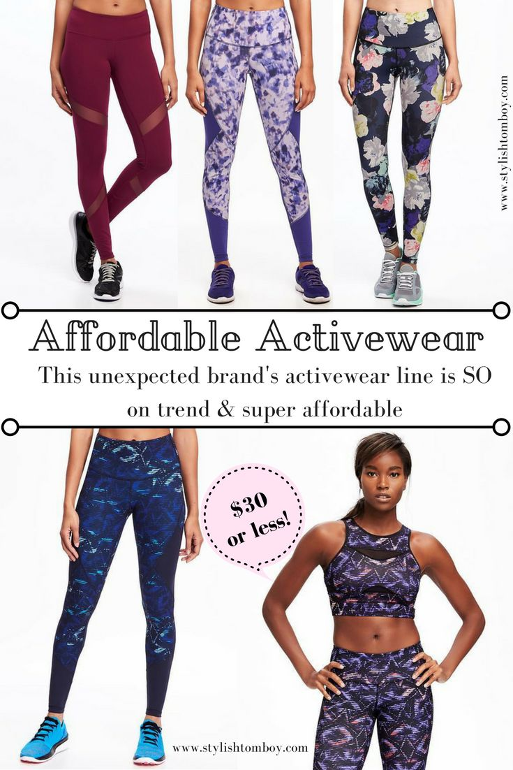 You guys will not believe what retailer this stylish and affordable activewear is from. Click through to shop or save for later!!