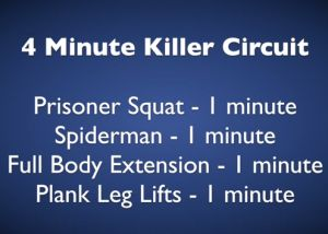 #HWOW Hillworks Workout Of the Week - 4 min Killer Circuit