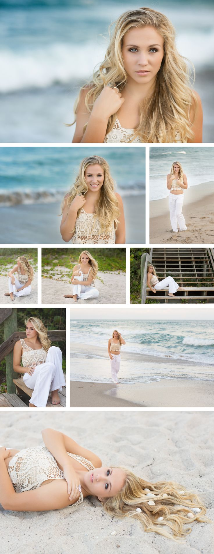 Alexandra Feild Photography Senior Portraits Viera, Melbourne, Lake Nona, Winter Park, Orlando Florida Senior photos at the beach, beach portrait session posing, girl