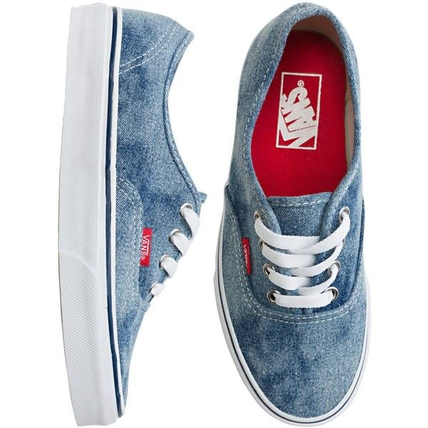 Vans Authentic Shoe ($50) ❤ liked on Polyvore featuring shoes, sneakers,  vans