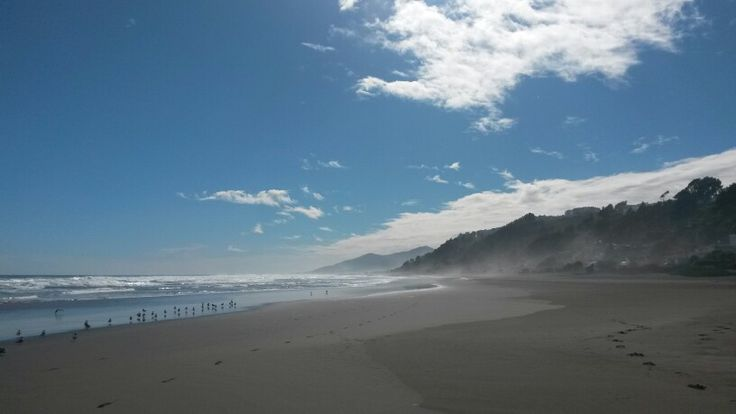 Playa invernal