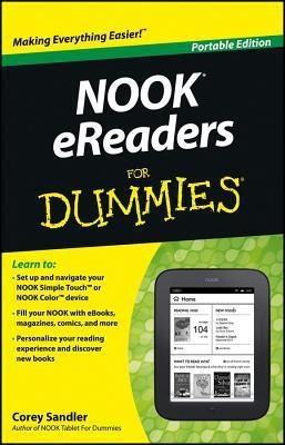 New arrival: Nook eReaders for Dummies by Corey Sandler