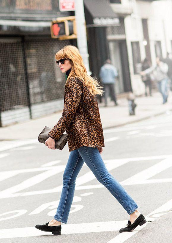 Labor of Love / Brianna Lance, Gucci, jeans, leopard / Garance Doré