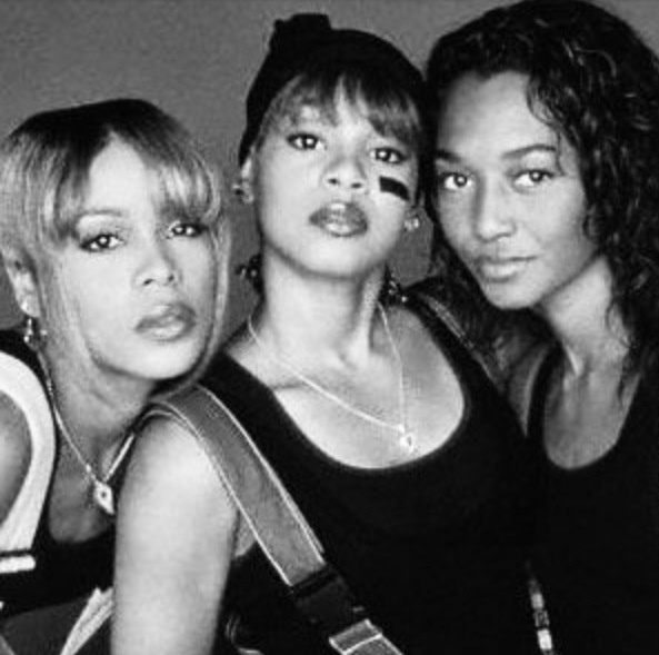 """African American Music Group 90s or Earlier - TLC Was A Female R Group In The 90s. Members: Rozonda """" Chilli """" Thomas, Tionne """" T-Boz """" Watkins & Deceased Member Lisa """" Left Eye """" Lopes"""