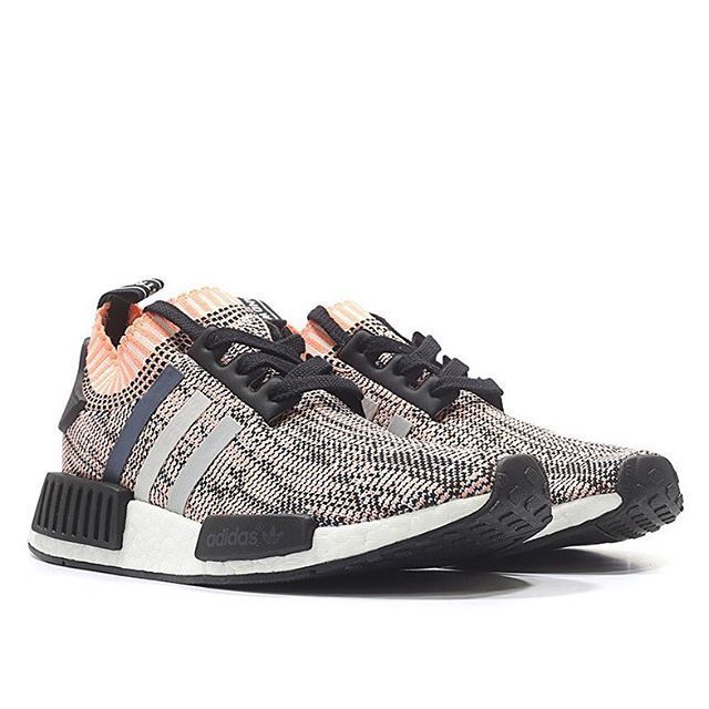 """Good news: the adidas NMD R1 """"Primeknit"""" is releasing again this Monday. For full details on this surprise restock, tap the link in our bio. #nike #kicksonfire #sneakershouts #sneakeraddict"""