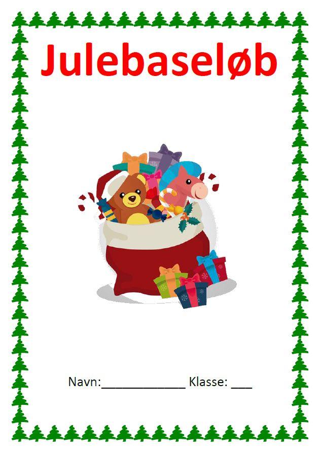 Dette materiale er udarbejdet af Christina Jakobine Roland.  Juleløb med både dansk og matematikopgaver. Hver post indeholder...