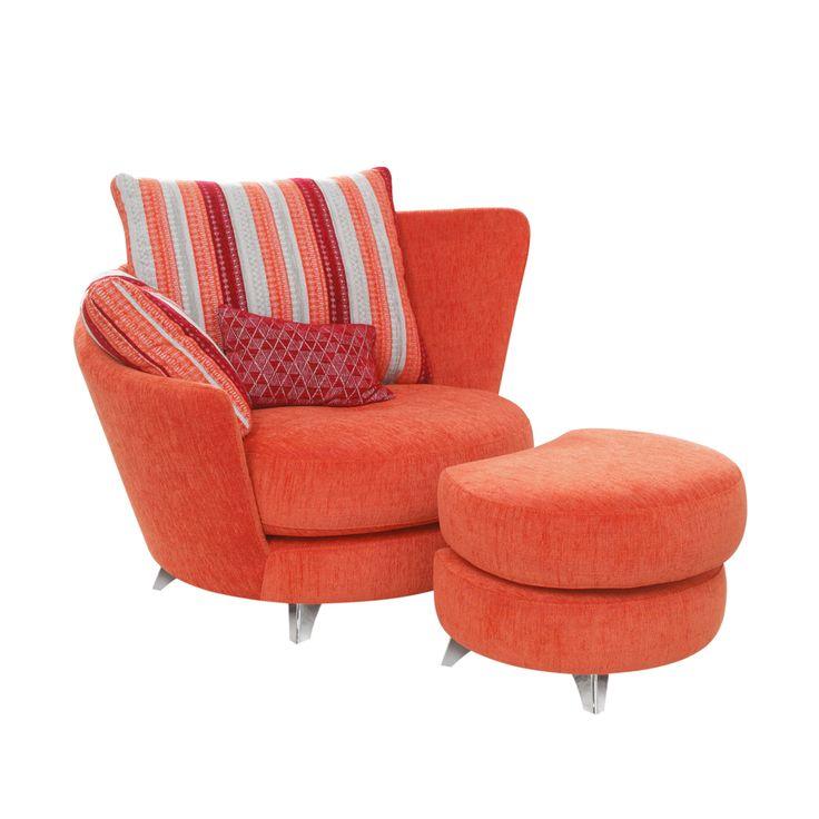 Fama Roxane Armchair and Footstool | Chairs | Living Room ...