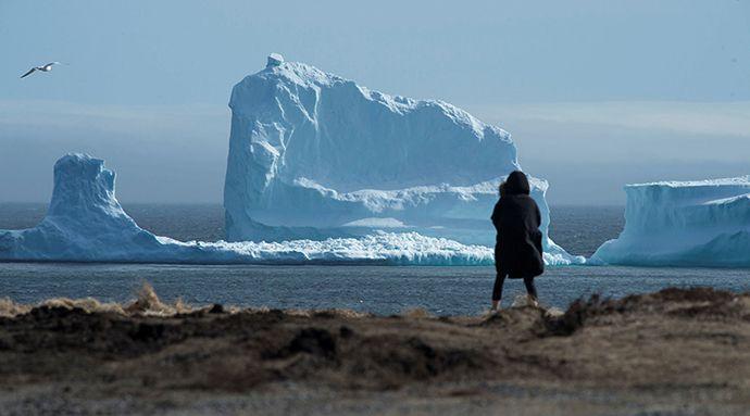 Καναδάς - παγόβουνο - ακτή