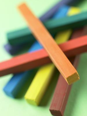 Qué tipo de papel usar con tizas pasteles | eHow en Español