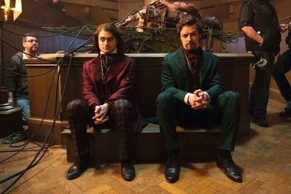 Here's What Daniel Radcliffe and James McAvoy Look Like in 'Victor Frankenstein'