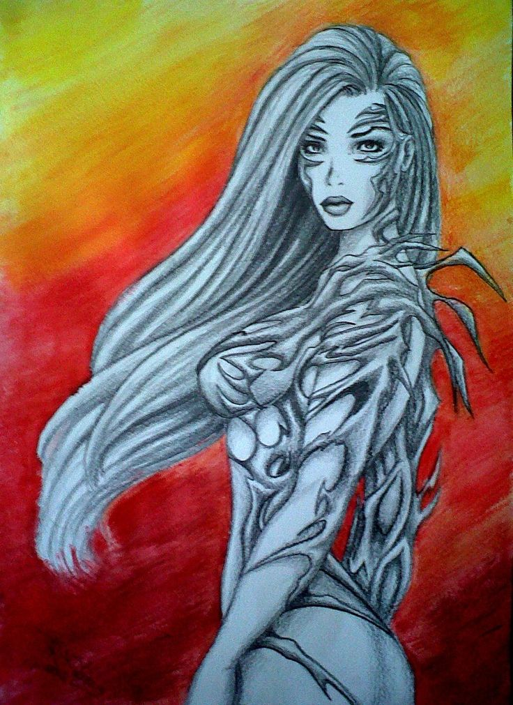 #witchblade #comics feeling so inspired! #doodle www.sway-designs.co.za