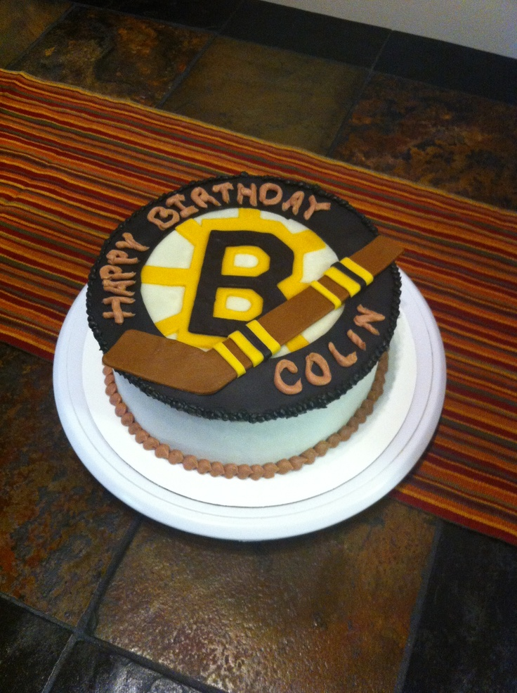 77 Best Hockey Cakes Images On Pinterest