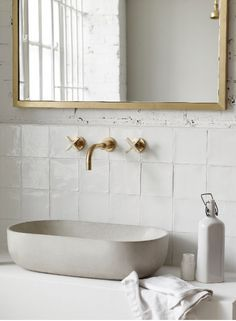 Beautiful white tile