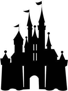 disney world castle cutout - Google Search