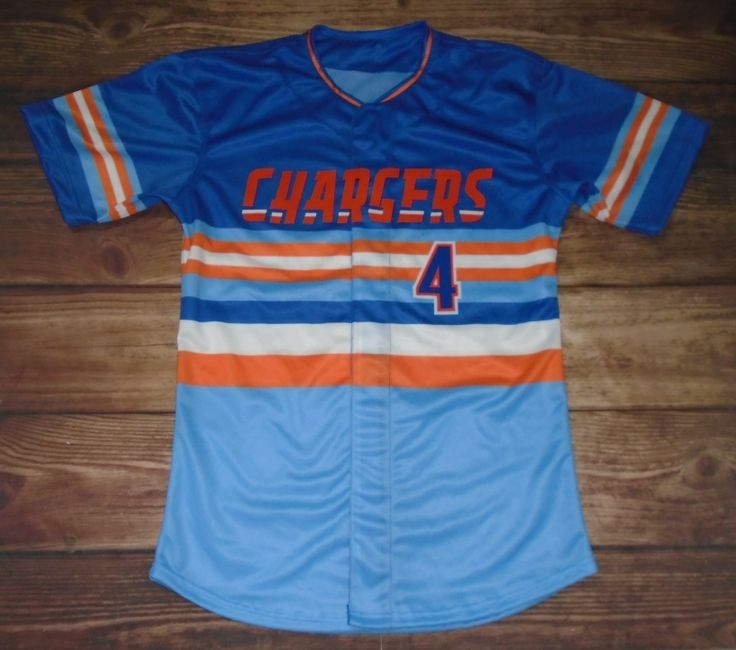 Chargers Baseball designed these custom uniforms and Dan Rodgers Sports Zone - Custom Varsity Jackets / Team... in Toledo, OH created them for the team! Create your own custom uniforms at www.garbathletics.com!
