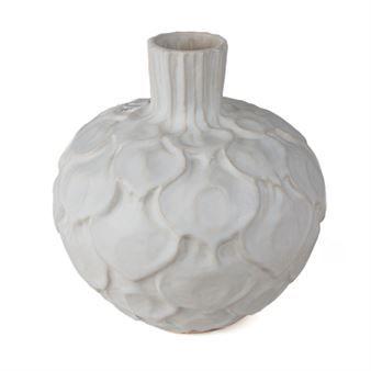 Den vackra vita Kronärtskocka vasen kommer från svenska Paradisverkstaden som är…