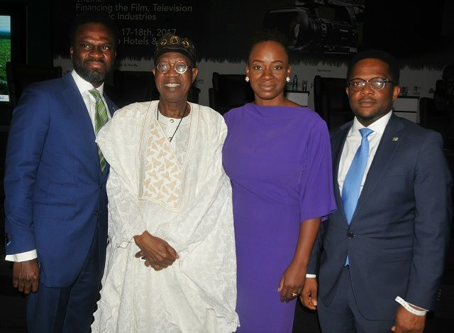 FG HAILS HERITAGE BANK'S  COMMITMENT TO ENTERTAINMENT INDUSTRY
