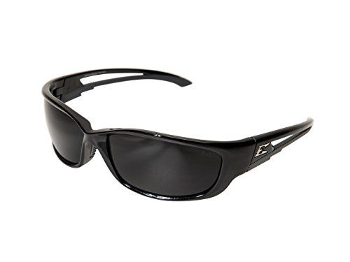 Edge Eyewear Kazbek XL Sunglasses Black Frame Smoke Vapor Shield Lenses ** Click on the image for additional details.Note:It is affiliate link to Amazon.