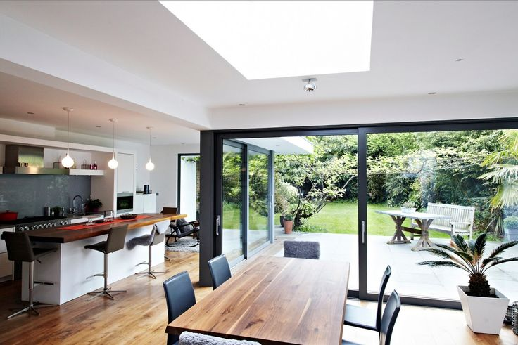 This home located in the Kingston region of London is the perfect place for someone looking to feel connected with nature. The wow factor of this house is the f