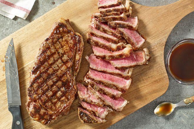 Foolproof Grilled Strip Steak