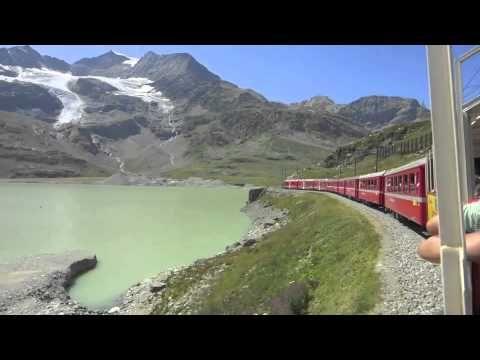 Ferrovia Retica Tirano - Bernina - Sankt Moritz 2