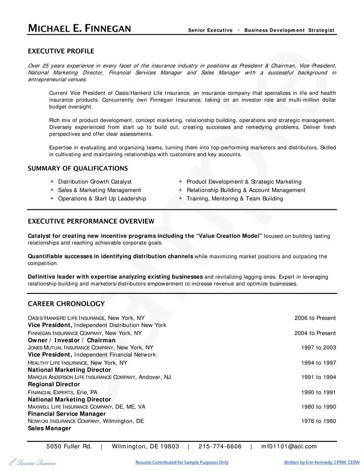 26 best Executive Resumes images on Pinterest Career, Finance - private equity resume