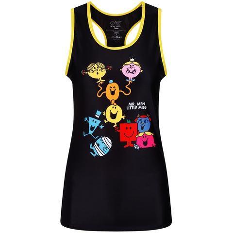 Tikiboo Mr. Men Little Miss Vest Black & Yellow £26.99