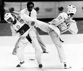 old school taekwondo