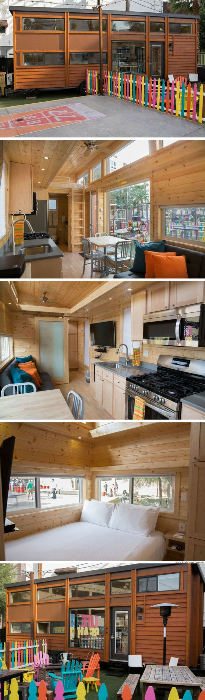 Would be cool to rent and see how we like Tony host living! The Sugar Shack: a tiny house available for rent in Las Vegas
