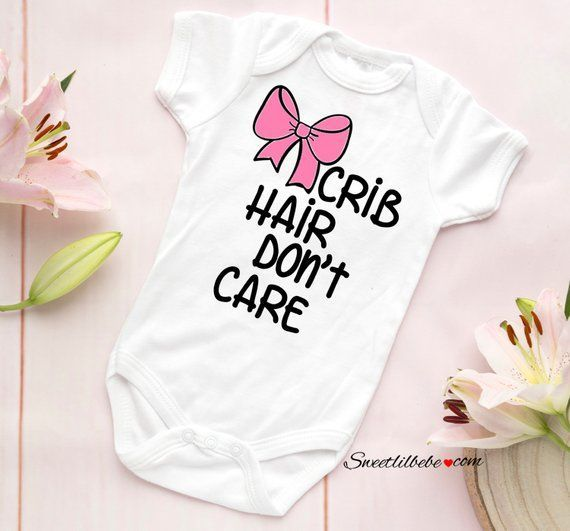 PARTY AT MY CRIB BABY BODY GROW SUIT VEST GIRL BOY GIFT BABY SHOWER PRESENT