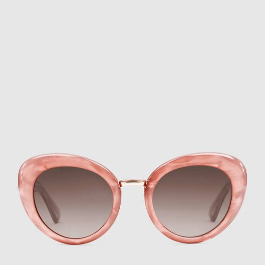 Gucci Femme - Lunettes de soleil œil-de-chat - 434075J07705565
