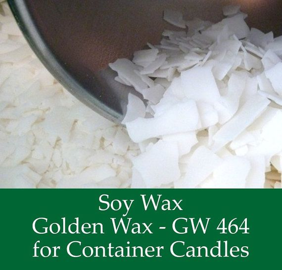 2 lbs. Soy Wax Flakes - GW464 -  All Natural Soy Wax for Candle Making