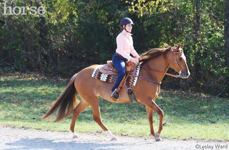 Slowing the Lope~Develop your western pleasure horse's lope without losing the three-beat gait.