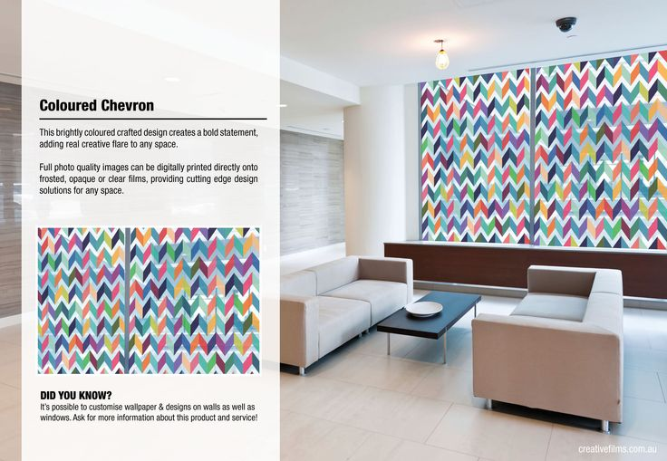 This brightly coloured crafted design creates a bold statement, adding real creative flare to any space.