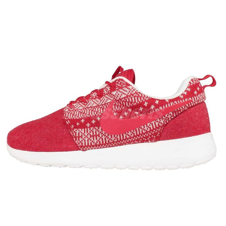 size 40 7b5b6 32e29 ... Running Wmns Nike Roshe One Winter Christmas Sweater Red Womens Running  Shoes 685286-661