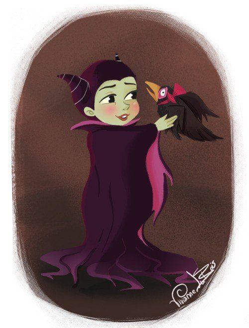 Il n'y a pas si longtemps, les méchants de Disney étaient encore des bébés | MinuteBuzz