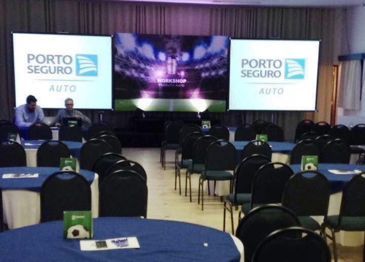 A ação de endomarketing para os funcionário da Porto Seguro Auto contou com workshop, comunicação visual, camisetas e muito mais! Conheça nossas ações.