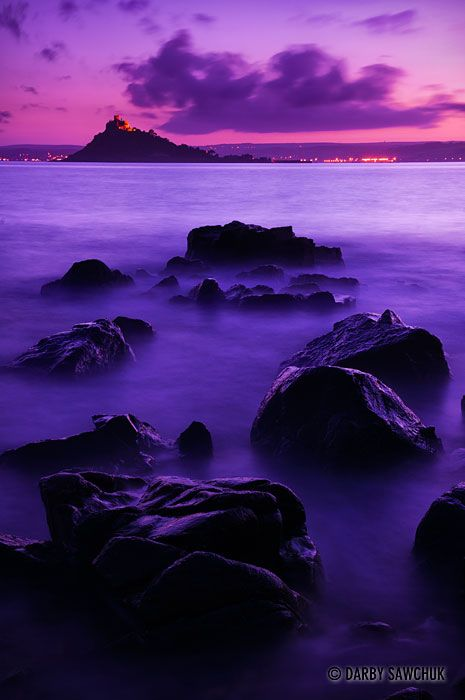 Dark at St Michael's Mount, Cornwall, England cant wait to Visit my native country.soon hopfully so beautiful green and holy.purity