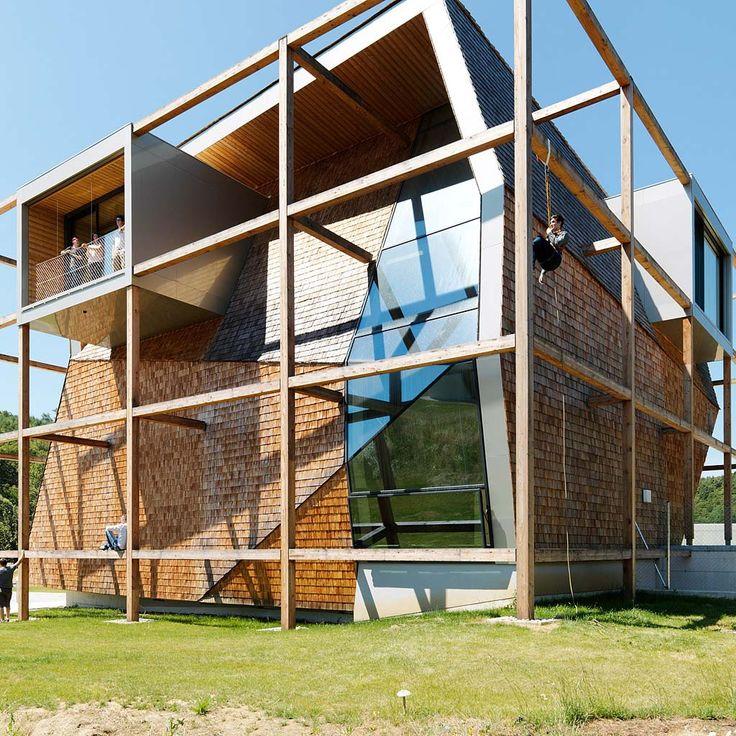 OFFICE OFF by heri&salli in Burgenland, Austria  #morfae #heriundsalli #officedesign #officebuilding #architecture