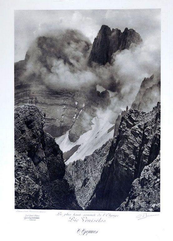 Η κορυφή του Ολύμπου, πρώτη εικοσαετία του 1900
