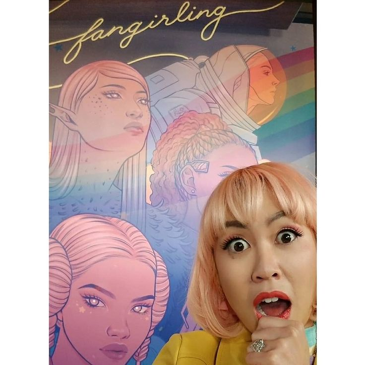 I had an amazing time guesting on Fangirling! The show is hosted by @alicialutes and stars all female guests chatting about the latest nerd news a great interview with Legend of Korra VA Janet Varney DND gossip and just a good 'ol Fangirling time! Swipe for cast pics  magical photos of the set with illustrations by @heyjenbartel !! I LOVE THEM SOOO! You can watch on www.projectalpha.com (& get a free trial if you're not already signed up!) . Hint: there's a funny video in the last slide so…