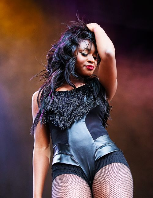 Normani Kordei performing at Channel 93.3 Summer Kickoff ...