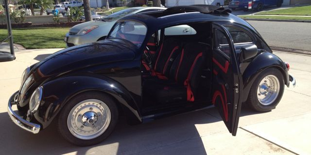 chop top vw beetle  sale  oldbugcom vws pinterest cars beetle  sale  vw