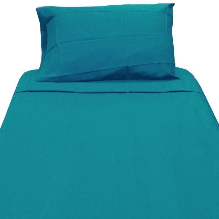 Dark Turquoise Twin XL Sheet Set Extra Long Blue Bedding