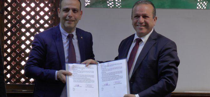 Çevre Bakanlığı ile LTB, Dikmen'e hayvan barınağı kurulması konusunda protokol imzaladı