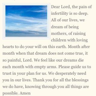 Fertility Prayers