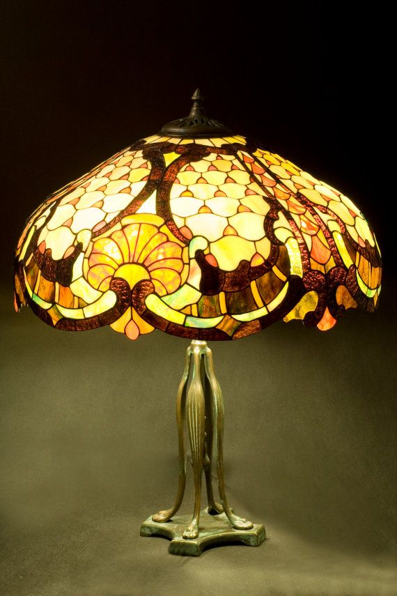 1597 Best Ideas About Stained Glass Lamps On Pinterest