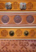 Handhabung von Punziereisen - Leder punzieren | eBay