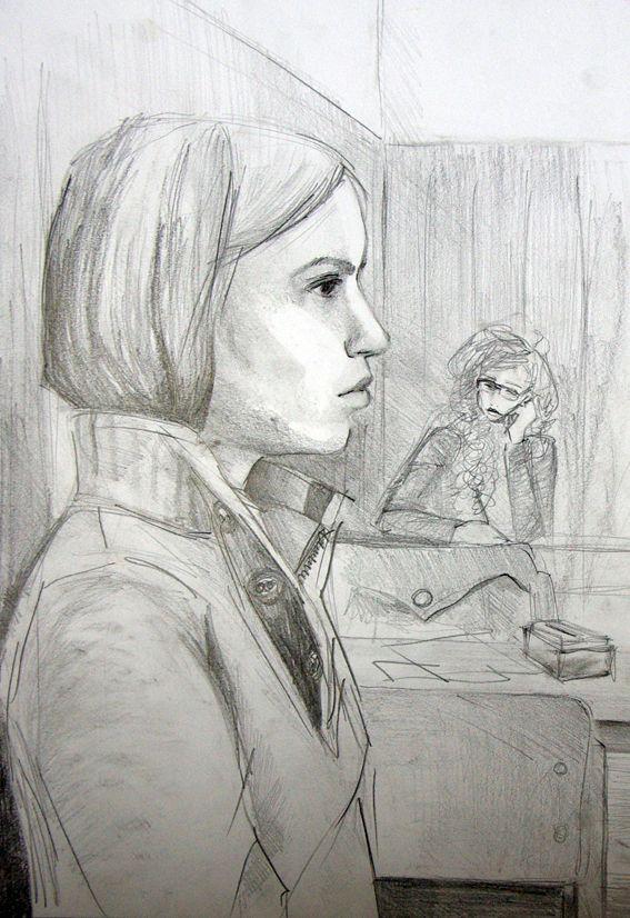 "kamuportré   ""realistic portrait""   2013   anna szollosi"